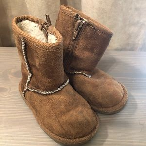 Airwalk boots kids tan